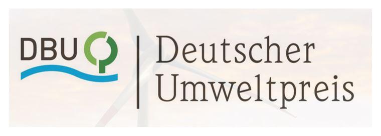 Verleihung des Deutschen Umweltpreises 2016 an ISTE-Mitglied Walter Feess