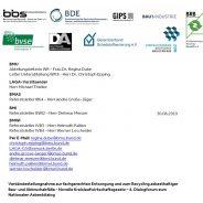 Asbestentsorgung: Bundesverbände fordern rechtsverbindliche Erkundungspflicht des Bauherrn